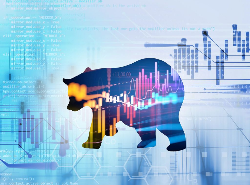 When a bear market shakes the stock market and the world of investors