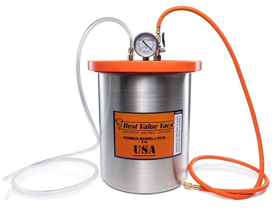 How Should the Evacuation Time for the Vacuum Chambers Be Calculated?